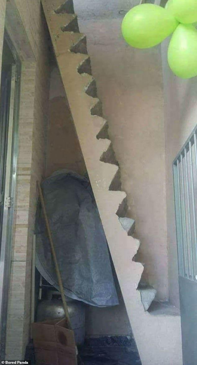 """""""Nấc thang xuống địa ngục"""", những cầu thang được thiết kế khó hiểu nhất thế giới - 8"""