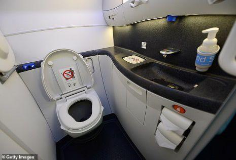 '. Bắt hành khách đặt camera quay lén trong nhà vệ sinh hạng thương gia .'