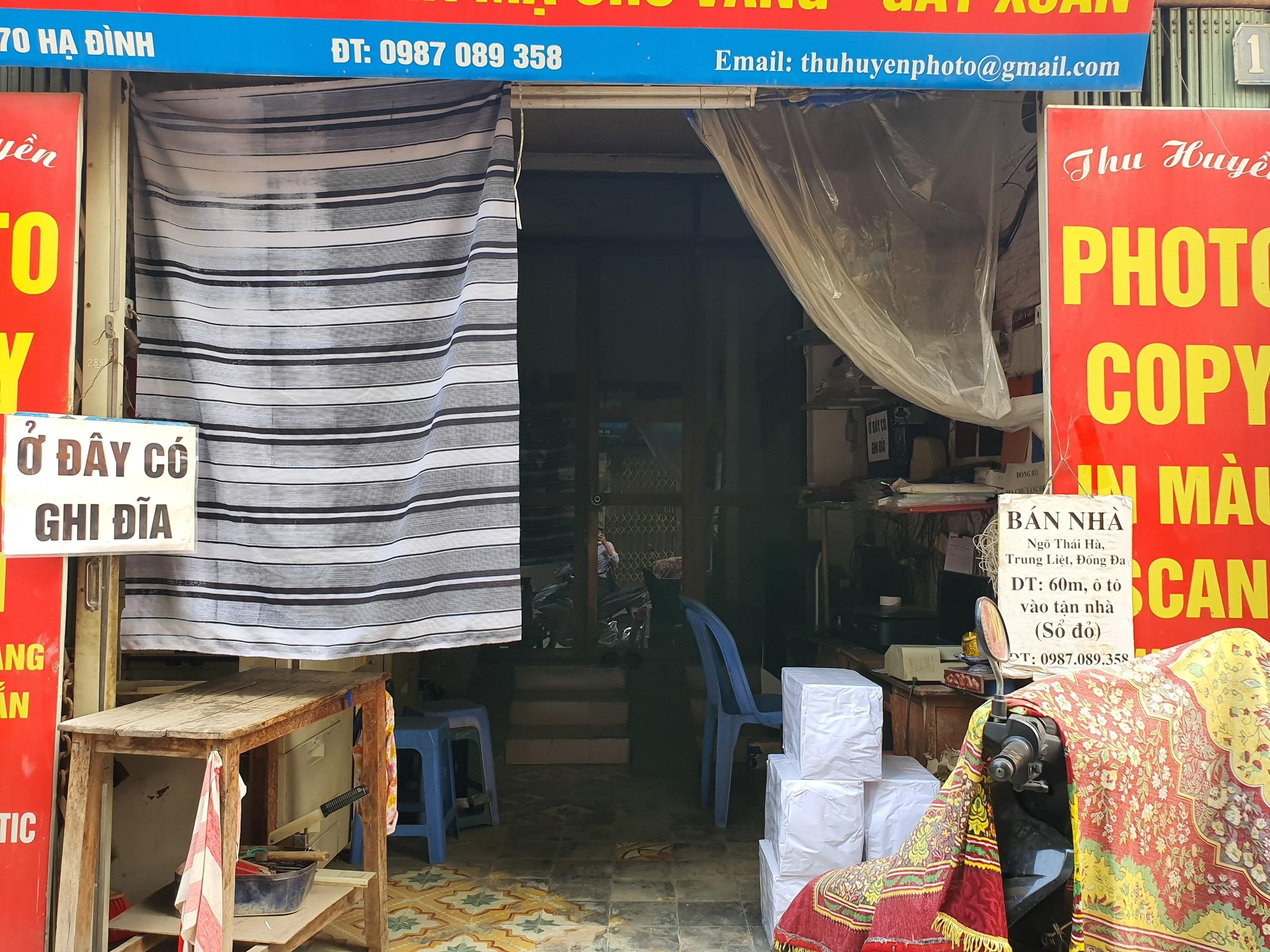 Hàng quán đóng cửa sang nhượng, dân quanh Công ty Rạng Đông thi nhau bán nhà - 5