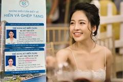 'Hot girl World Cup' Trâm Anh đăng ký hiến tạng