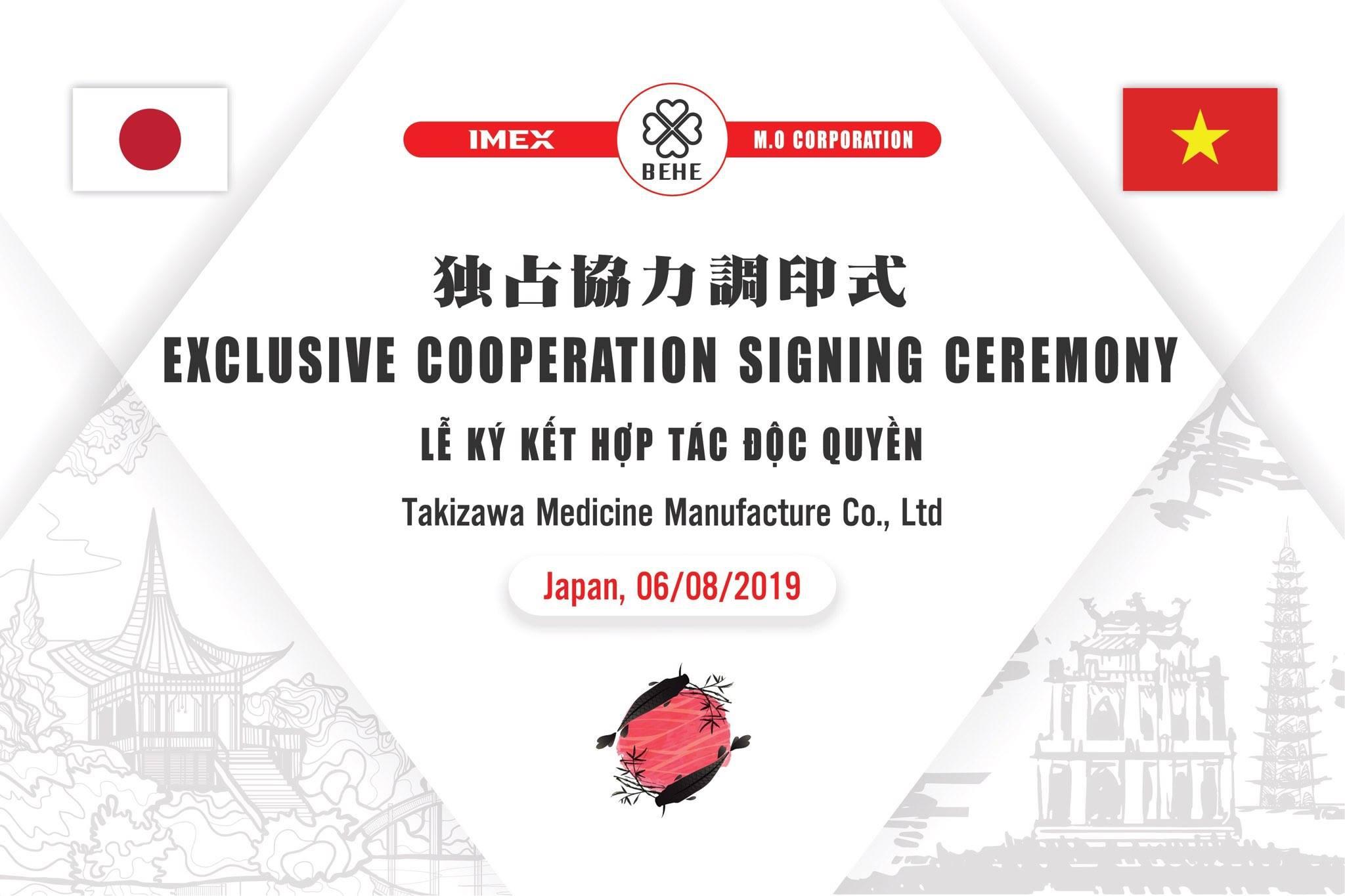 BEHE Việt Nam và Imex ký kết hợp tác độc quyền với tập đoàn Takizawa - 1