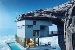"""Top 10 biệt thự """"dị"""" nhất thế giới xây dựng ở vùng đất mà bạn không ngờ đến"""
