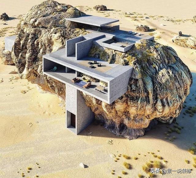 """Top 10 biệt thự """"dị"""" nhất thế giới xây dựng ở vùng đất mà bạn không ngờ đến - 9"""