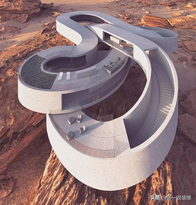 """Top 10 biệt thự """"dị"""" nhất thế giới xây dựng ở vùng đất mà bạn không ngờ đến - 10"""
