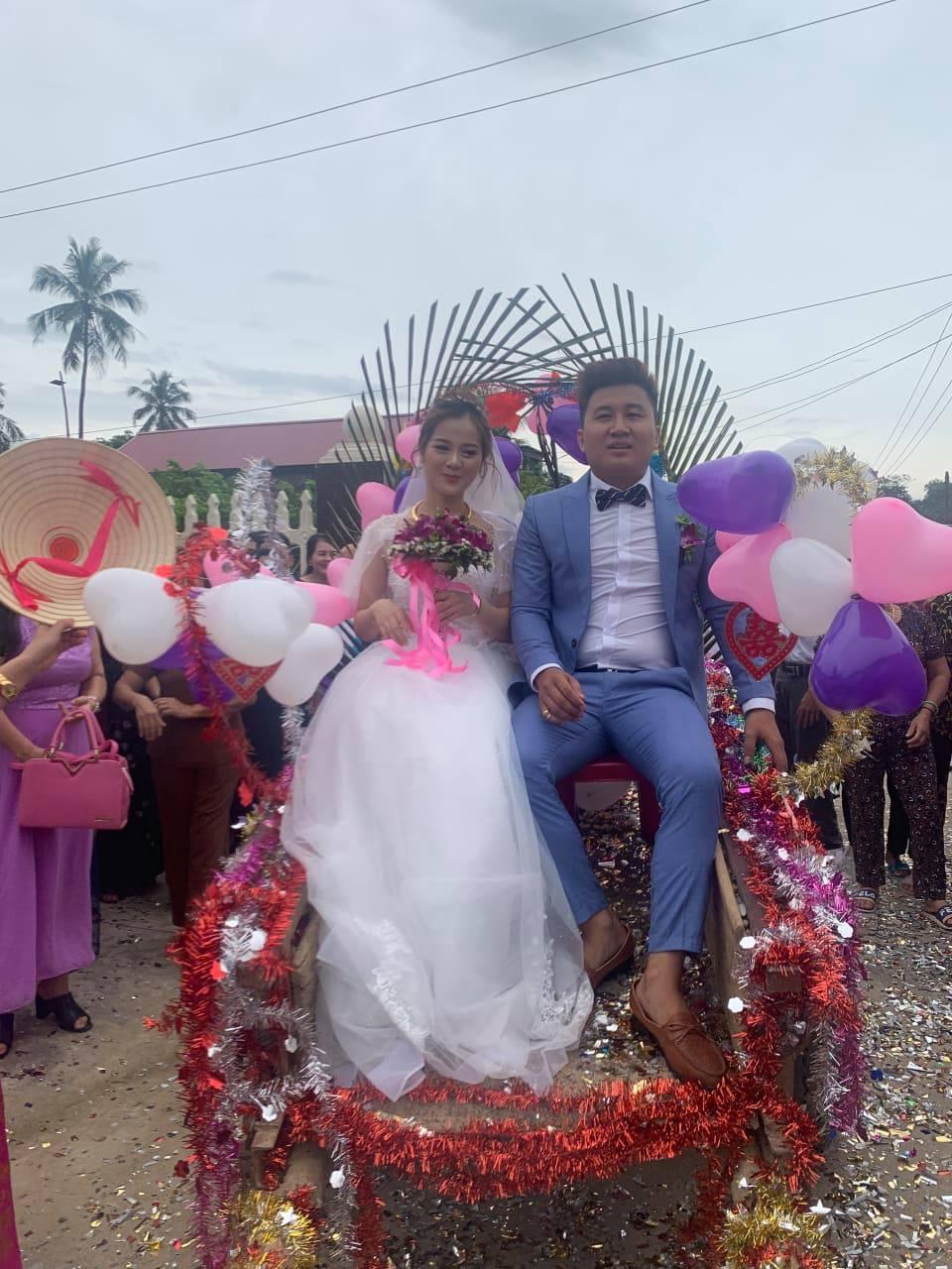 Độc đáo đám cưới rước dâu bằng xe trâu ở Thanh Hóa - 5