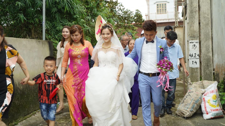 Độc đáo đám cưới rước dâu bằng xe trâu ở Thanh Hóa - 7