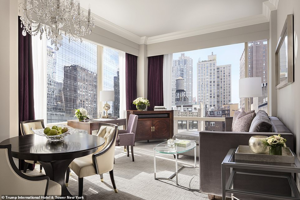Khách sạn của tổng thống Donald Trumps được xếp hạng tốt nhất thế giới - 4