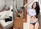 Hot girl Việt gây sốc với căn phòng bừa bộn như ổ chuột