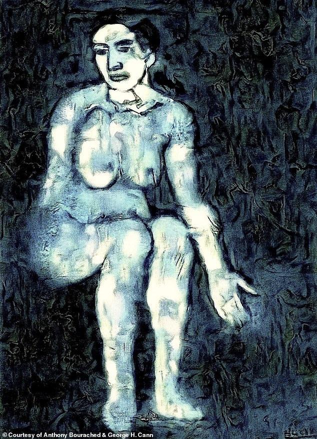 Tìm lại được bức vẽ khỏa thân những tưởng vĩnh viễn biến mất của Picasso - 1