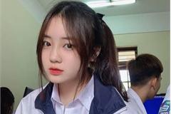 Nữ sinh Bắc Ninh mặc đồng phục hút ánh nhìn vì nhan sắc khả ái