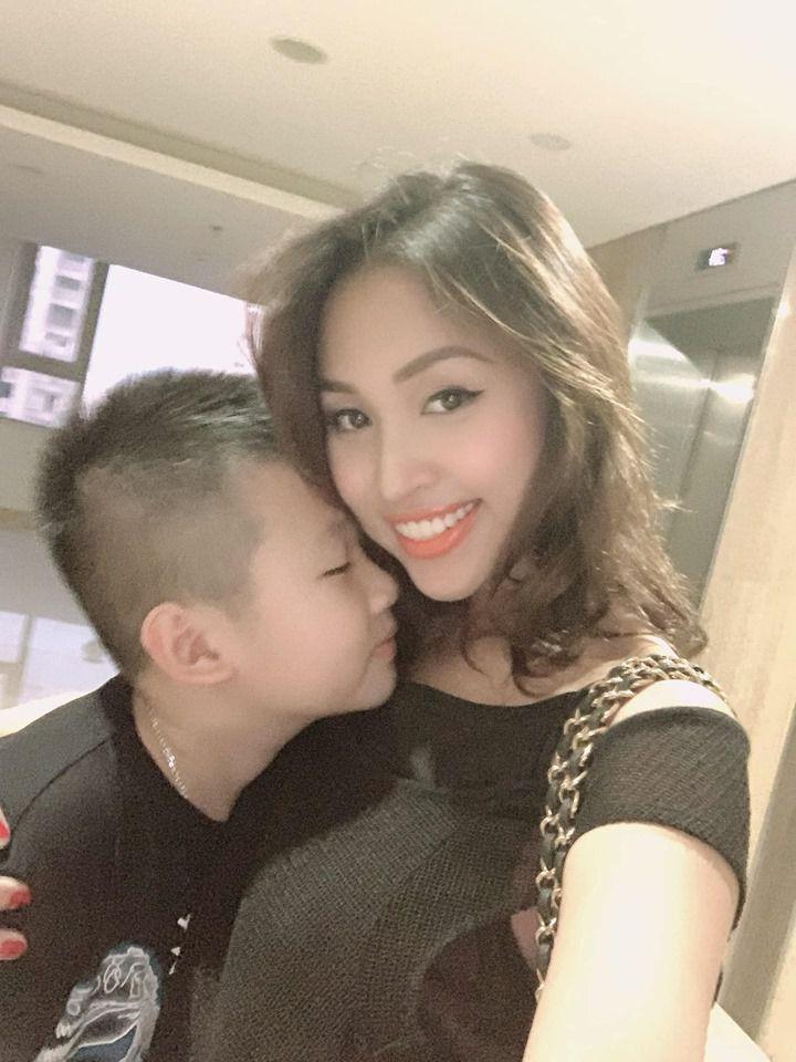 Vân Hugo bất ngờ khi con trai 10 tuổi nói muốn lấy vợ như mẹ - 1