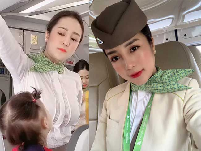 3 nữ tiếp viên hàng không Việt Nam gợi cảm khi rời đồng phục bay - 1