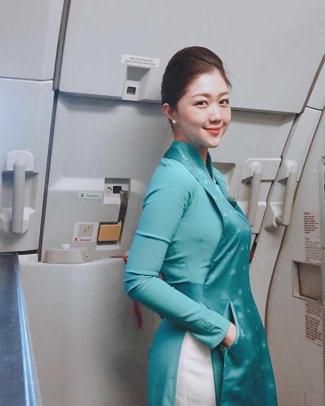 3 nữ tiếp viên hàng không Việt Nam gợi cảm khi rời đồng phục bay - 10