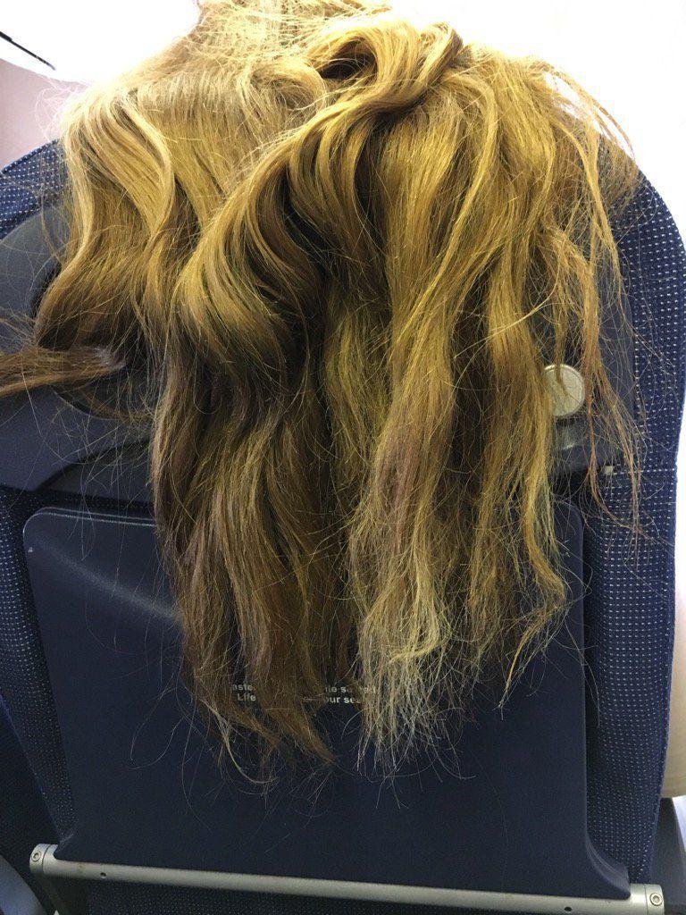 """Hành khách cắt phăng đuôi tóc dài của cô gái vì """"ngứa mắt"""" - 2"""