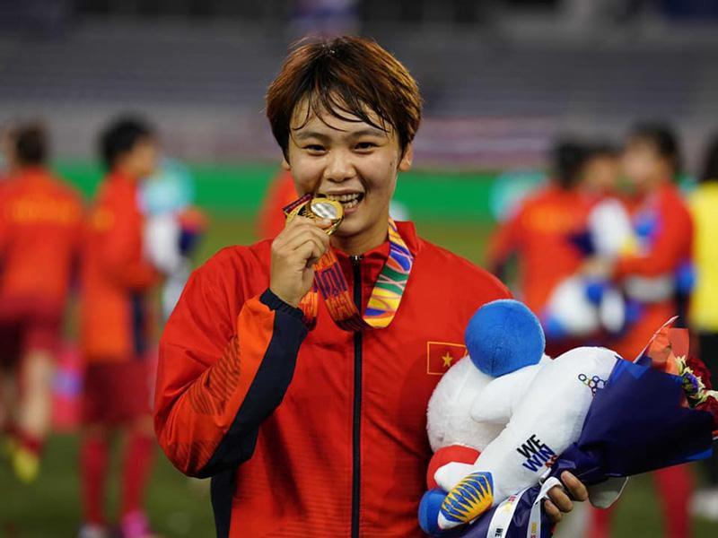 Giành HCV SEA Games, cánh én nhỏ Phạm Hải Yến dành tặng bà ngoại đã khuất - 5