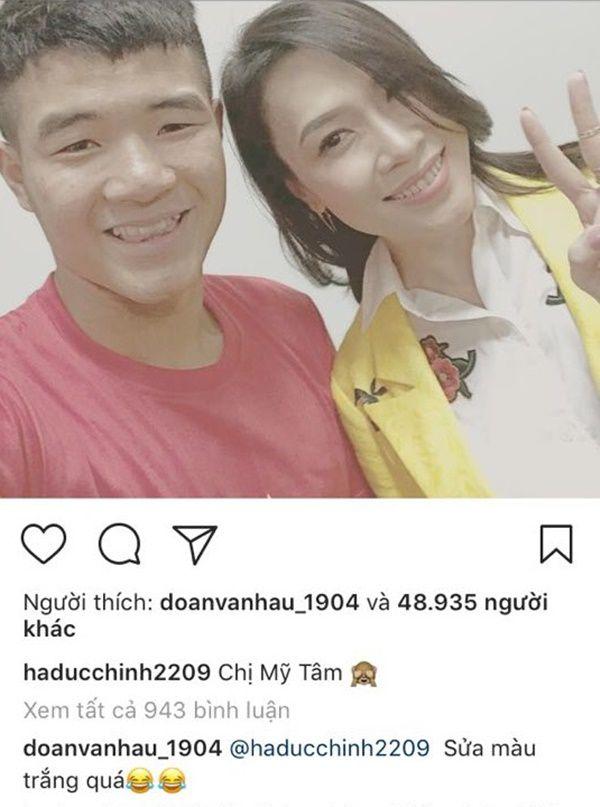 """Mỹ Tâm, Chi Pu nhiều lần """"gán ghép"""" Hà Đức Chinh là """"bạn gái"""" Bùi Tiến Dũng - 6"""
