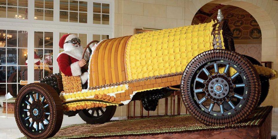 Chiếc xe đua Pierce-Arrow 1918 đặc biệt làm bằng bánh tráng miệng - 1