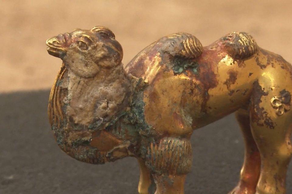 Tìm thấy tượng lạc đà bằng vàng nguyên khối gần lăng mộ Tần Thủy Hoàng - 2