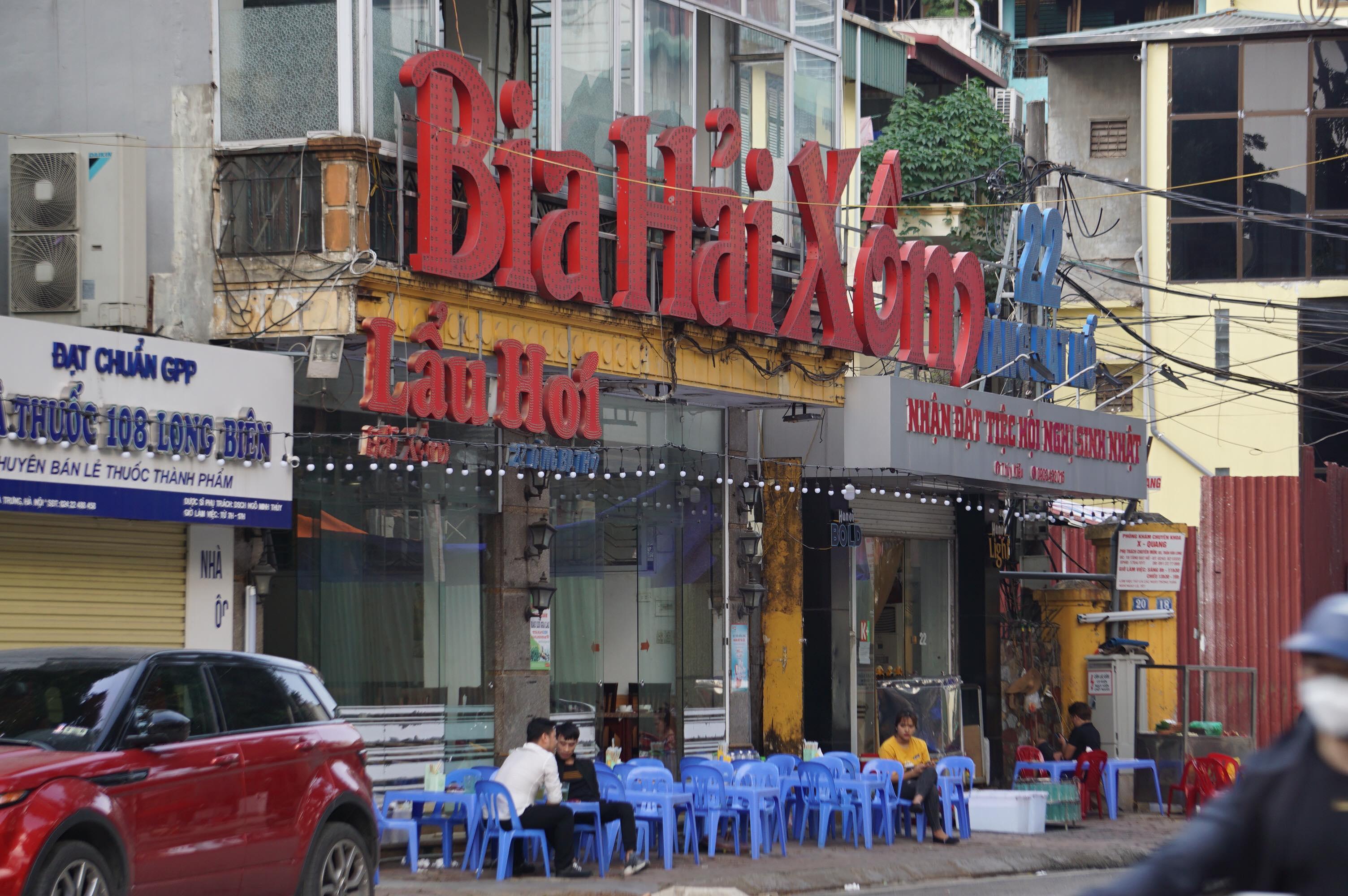 Hà Nội: Quán nhậu đìu hiu vắng khách, thất thu sau Nghị định 100 - 9