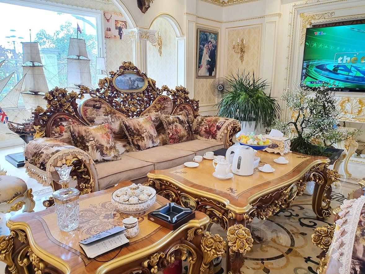 Cận cảnh ngôi nhà triệu đô, dát vàng 24k của đại gia nức tiếng Hải Dương - 7