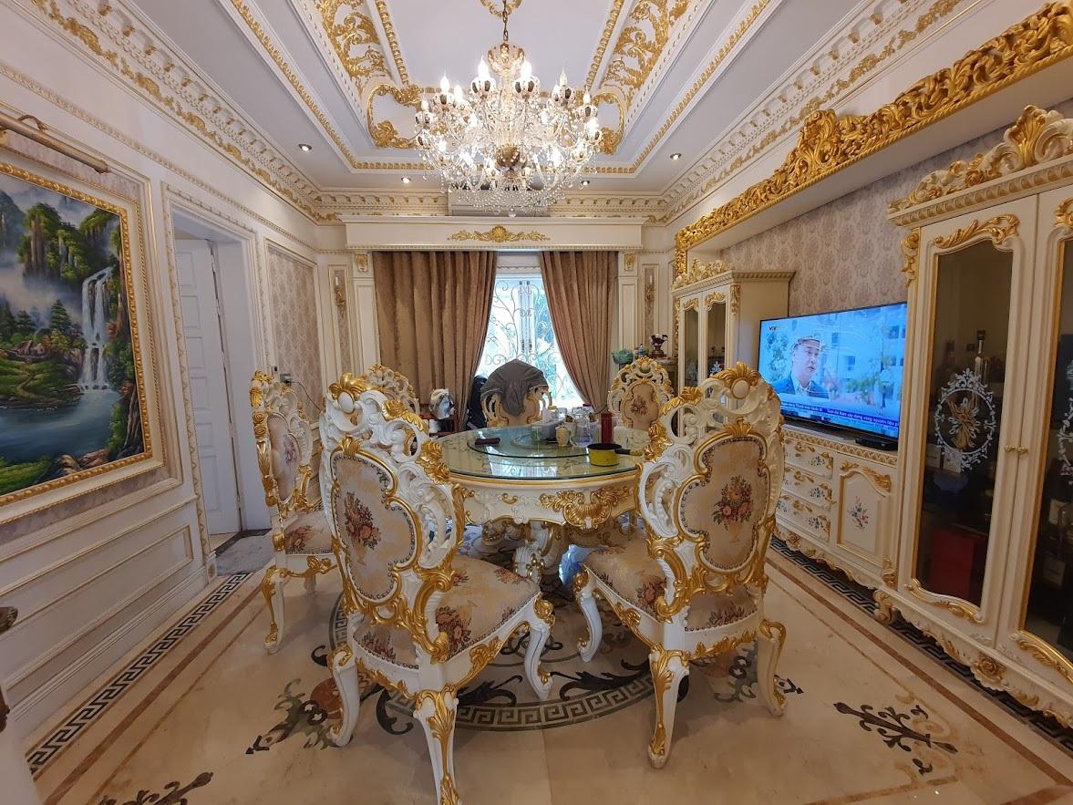 Cận cảnh ngôi nhà triệu đô, dát vàng 24k của đại gia nức tiếng Hải Dương - 11