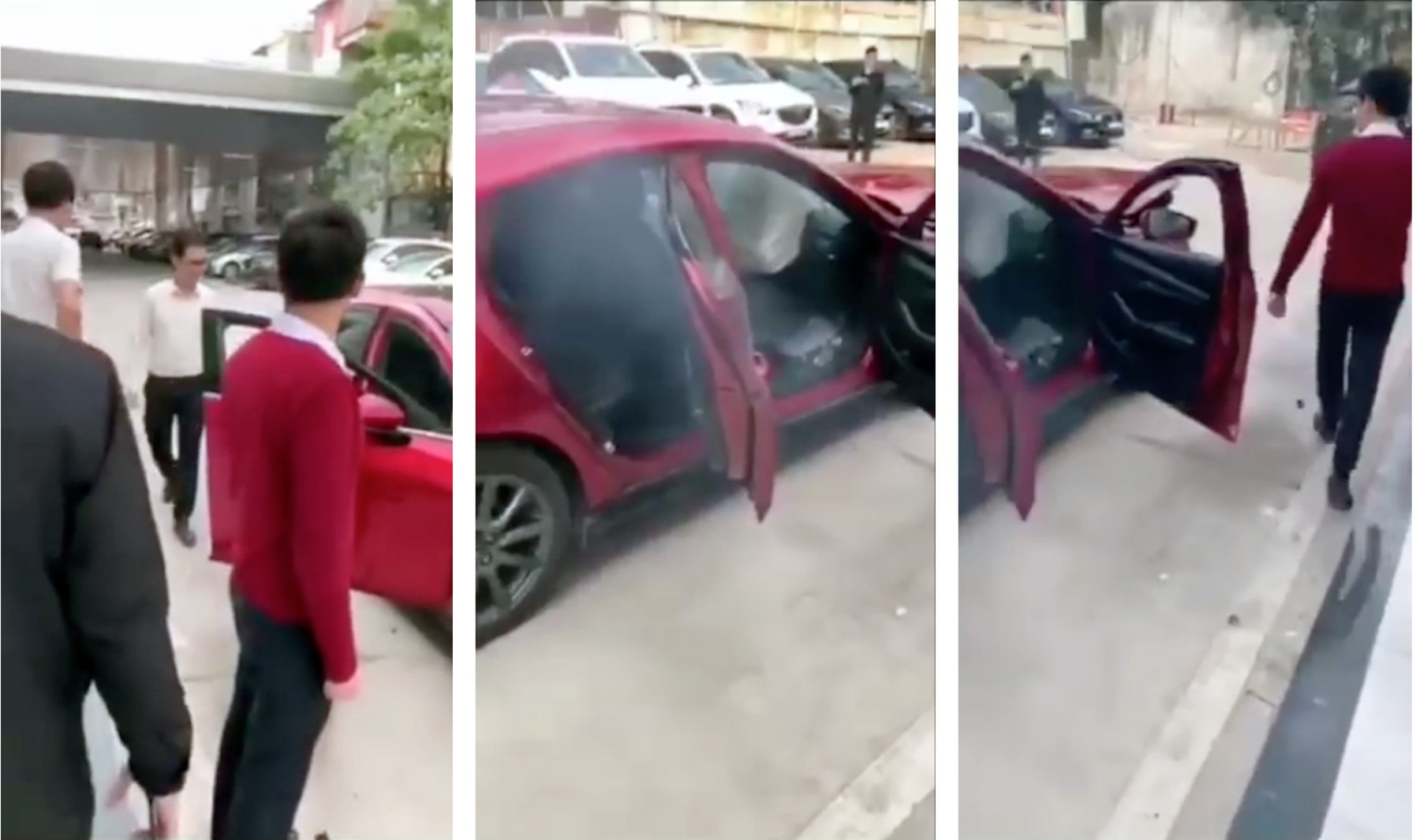 Mazda3 gây tai nạn khi thử nghiệm tính năng phanh khẩn cấp tự động? - 2