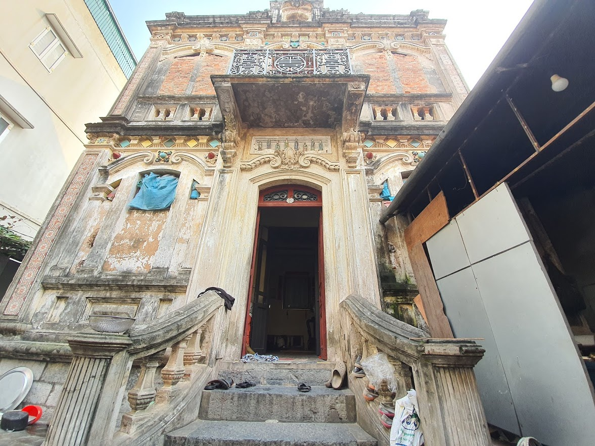 Căn biệt thự Pháp cổ 100 tuổi của đại gia làng miến nức tiếng Hà Nội xưa - 5