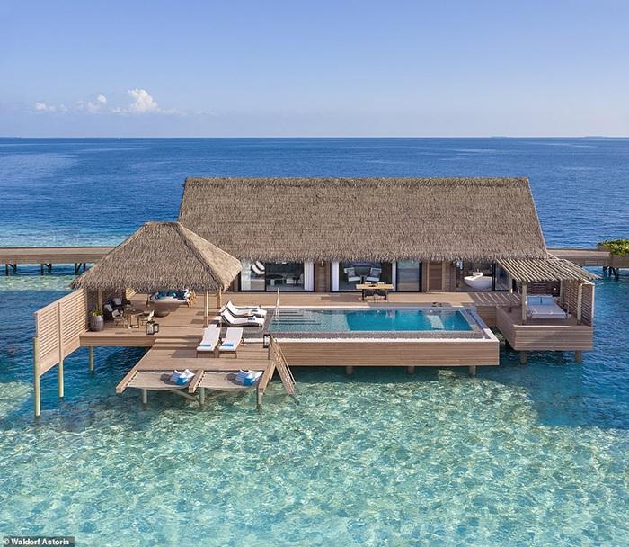 """Những """"mảnh thiên đường bé nhỏ riêng"""" tại Maldives - 1"""