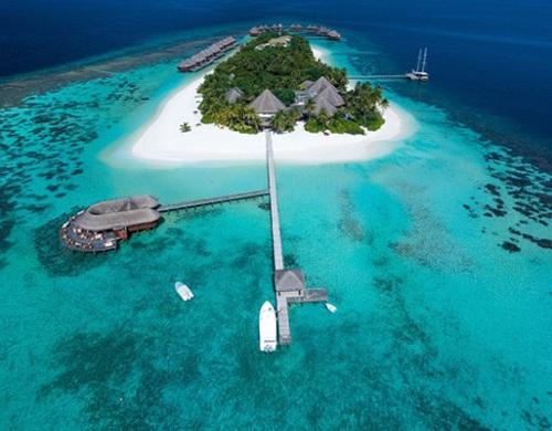 """Những """"mảnh thiên đường bé nhỏ riêng"""" tại Maldives - 4"""