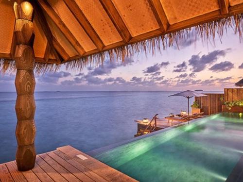 """Những """"mảnh thiên đường bé nhỏ riêng"""" tại Maldives - 10"""