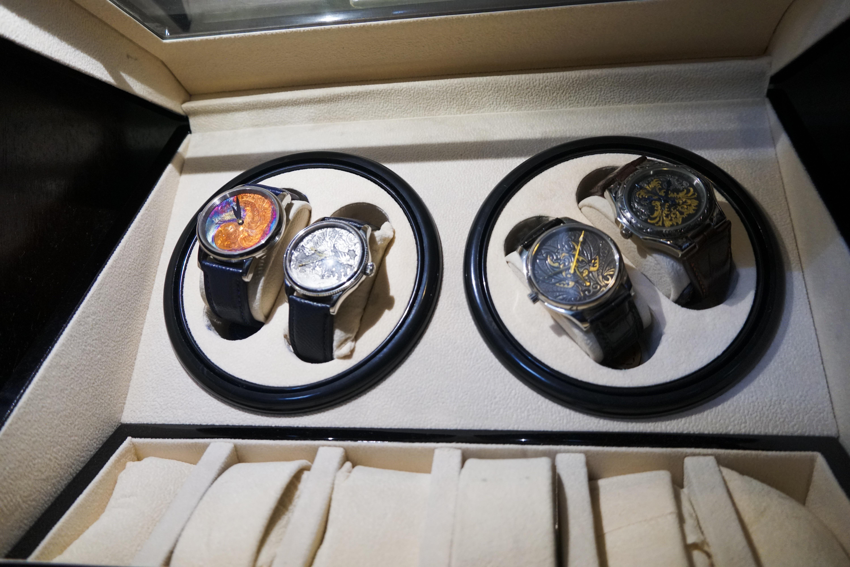 Độc đáo nghề chạm khắc đồng hồ ở Hà Nội - 10