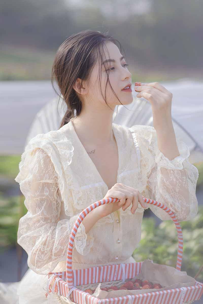 Xao xuyến vẻ đẹp trong veo như sương mai của cô gái Bắc Giang - 3