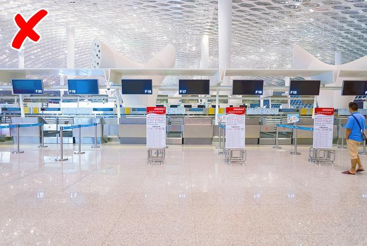 Những việc không nên mất thời gian làm ở sân bay - 1