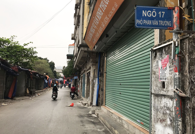 Các khu chợ sinh viên ở Hà Nội đồng loạt đóng cửa phòng dịch Covid-19 - 2