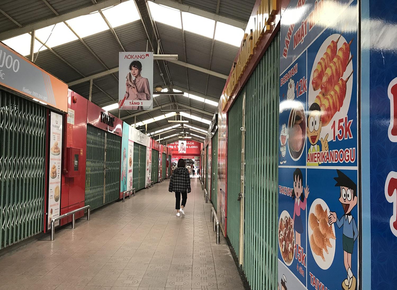 Các khu chợ sinh viên ở Hà Nội đồng loạt đóng cửa phòng dịch Covid-19 - 9