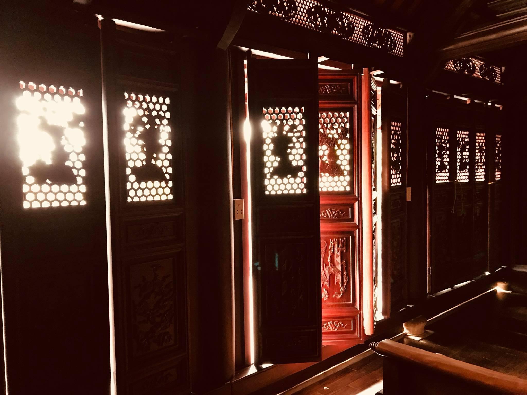 Cận cảnh nhà cổ trăm tuổi toàn bằng gỗ quý, đẹp hiếm có ở Nam Định - 5