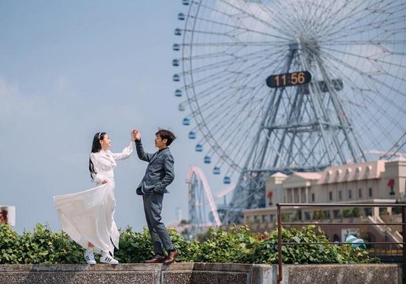Chuyện tình ngọt ngào của cặp đôi Việt ở xứ sở hoa anh đào - 1