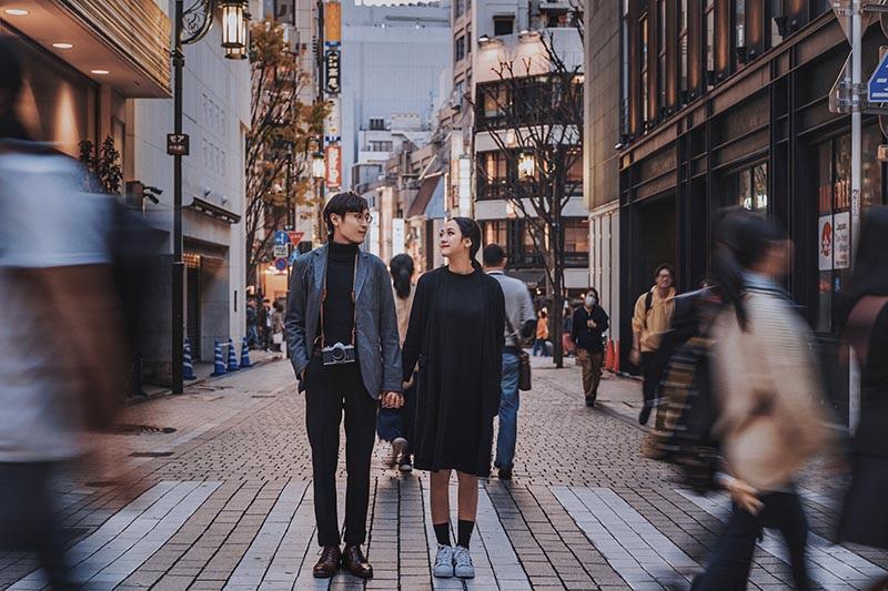 Chuyện tình ngọt ngào của cặp đôi Việt ở xứ sở hoa anh đào - 2