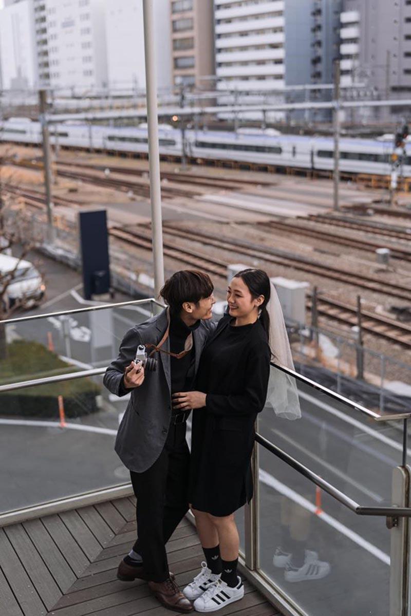 Chuyện tình ngọt ngào của cặp đôi Việt ở xứ sở hoa anh đào - 4
