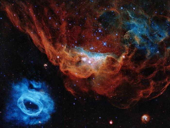 23 bức ảnh tuyệt đẹp gửi đến từ Vũ trụ - 4