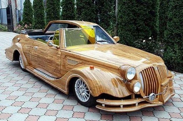 Những chiếc ô tô bằng gỗnổi nhất thế giới - 10