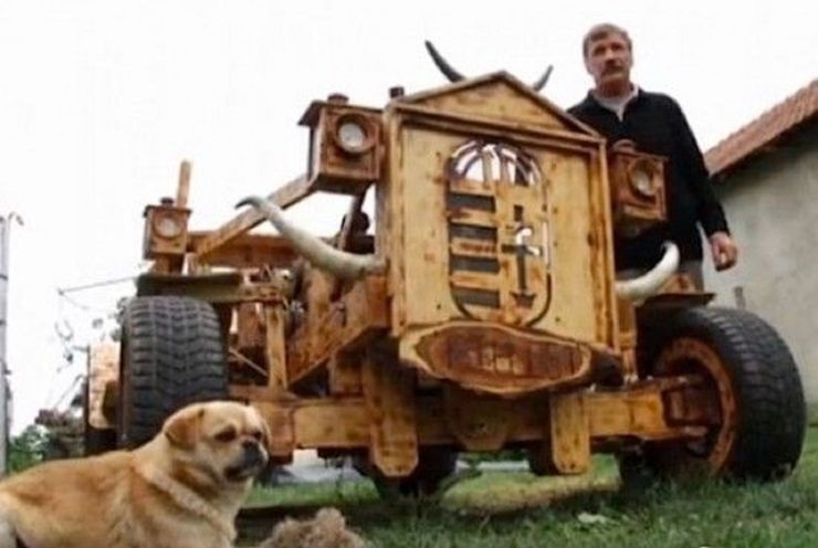 Những chiếc ô tô bằng gỗnổi nhất thế giới - 12