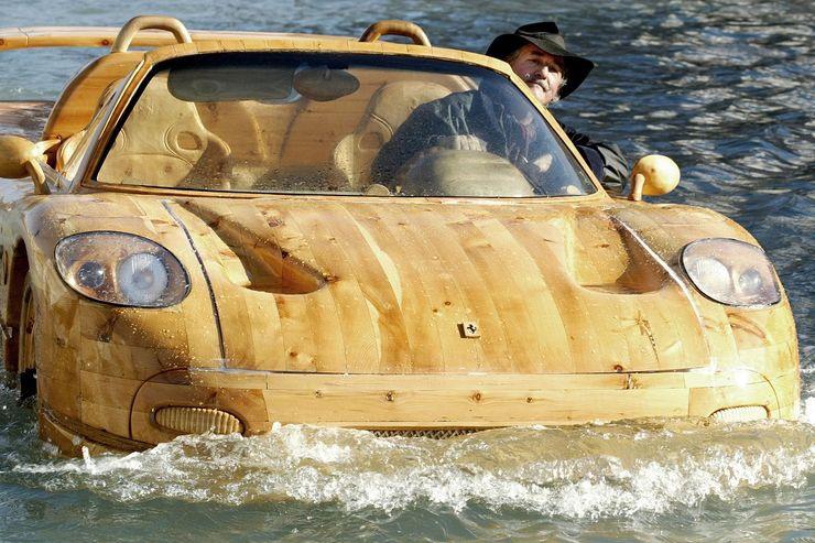 Những chiếc ô tô bằng gỗnổi nhất thế giới - 13