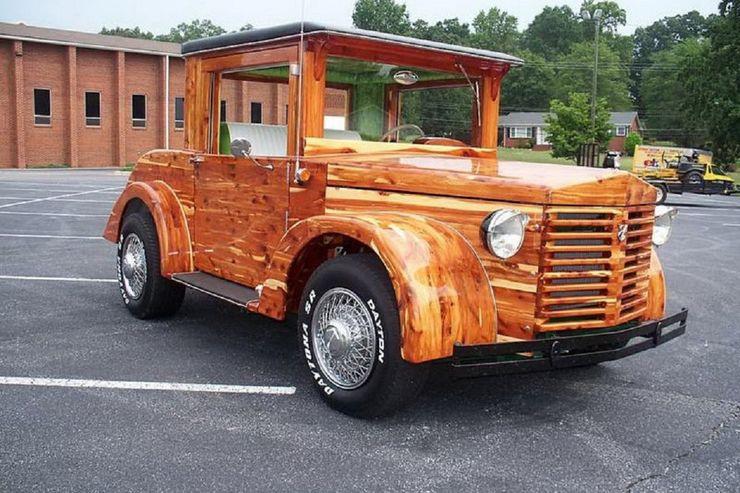Những chiếc ô tô bằng gỗnổi nhất thế giới - 14