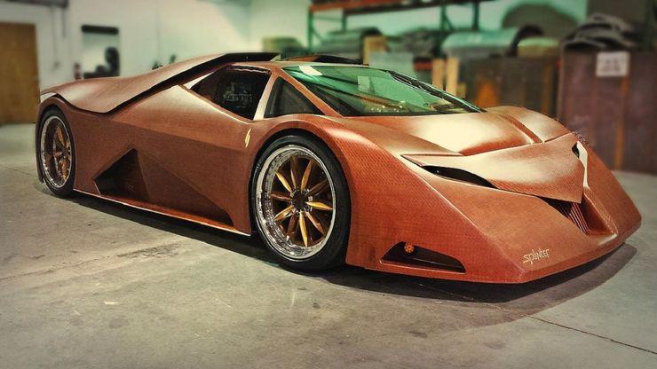 Những chiếc ô tô bằng gỗnổi nhất thế giới - 15