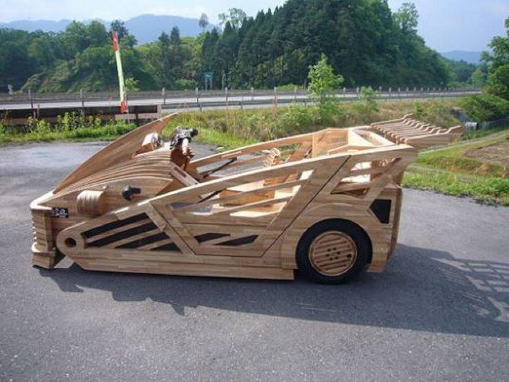 Những chiếc ô tô bằng gỗnổi nhất thế giới - 3