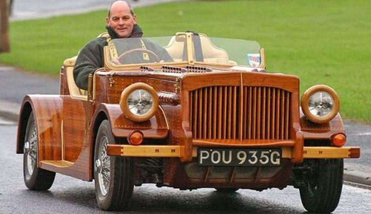 Những chiếc ô tô bằng gỗnổi nhất thế giới - 4