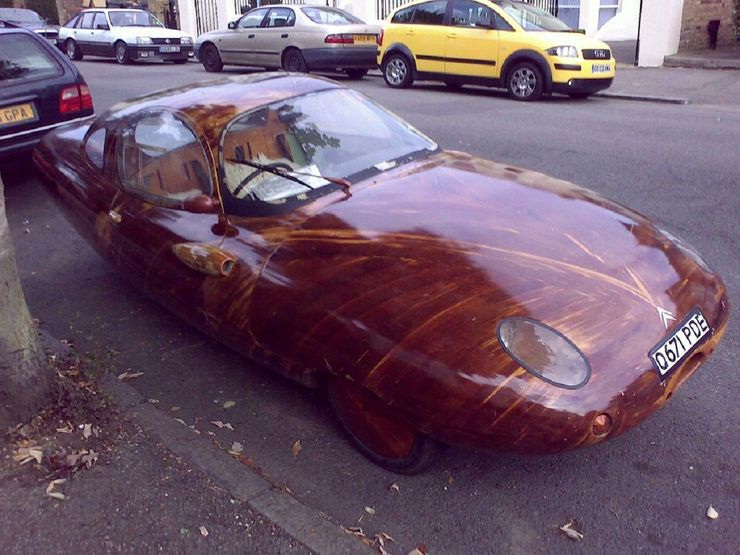 Những chiếc ô tô bằng gỗnổi nhất thế giới - 6