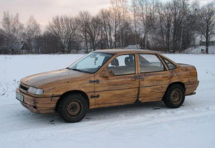 Những chiếc ô tô bằng gỗnổi nhất thế giới - 1