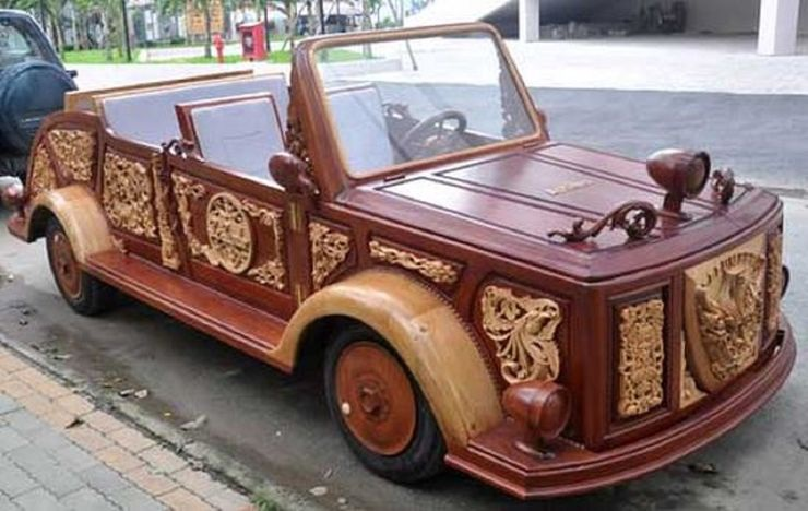 Những chiếc ô tô bằng gỗnổi nhất thế giới - 9